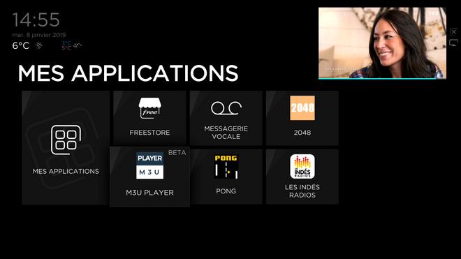 Freebox Delta et Révolution : Mise à jour de Player M3U, qui